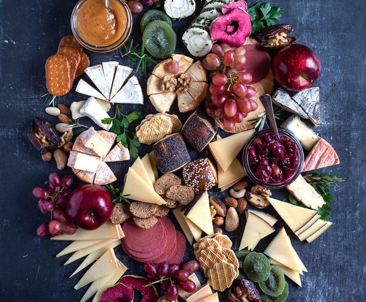 Festliche Käseplatte und die ultimativen Tipps vom Käse Sommelie