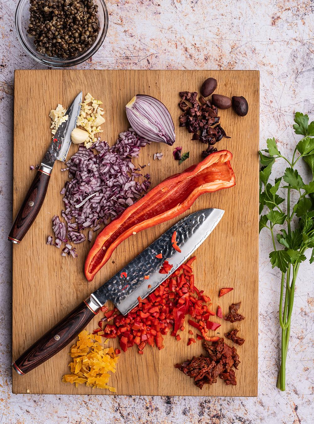 Bulgur als warme Beilage oder Bulgur Salat