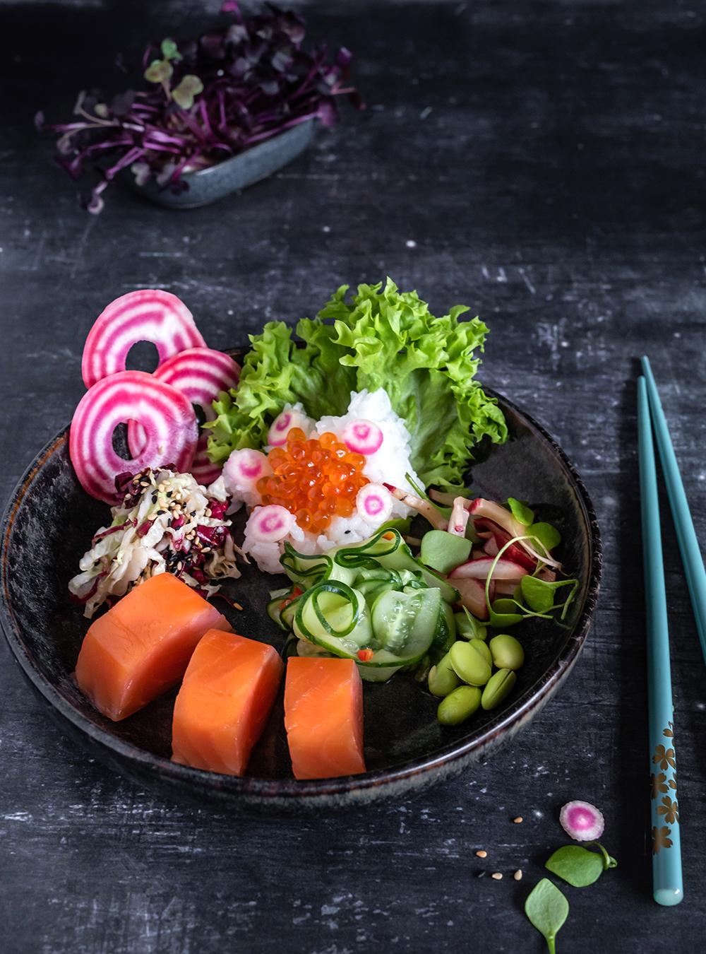 Sushi Bowl - ganz einfach original japanisch snacken