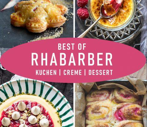 Best of Rhabarber - die besten Rhabarber Rezepte