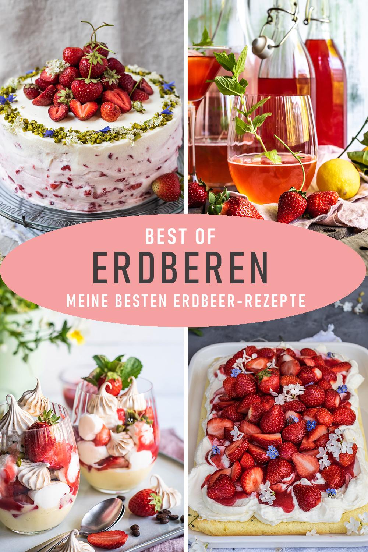 Meine besten Erdbeer-Rezepte