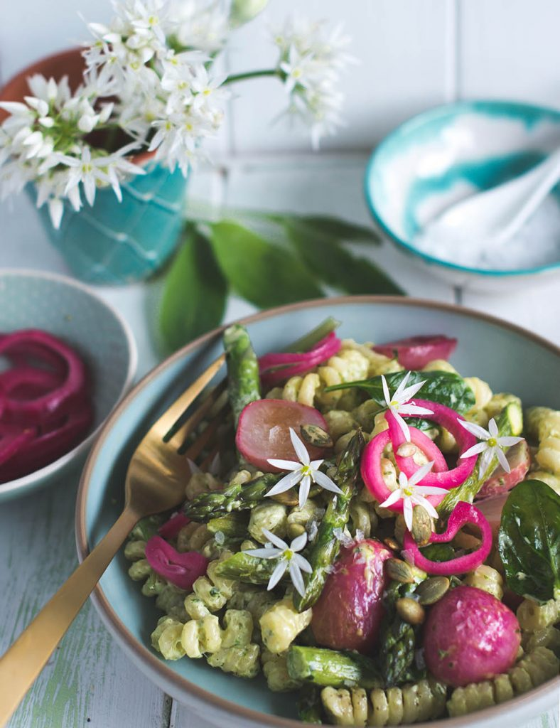 Spargel salat