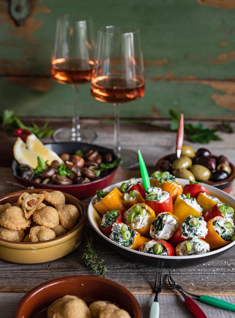 Vegetarische Tapas aus Spanien ganz einfach selbstgemacht