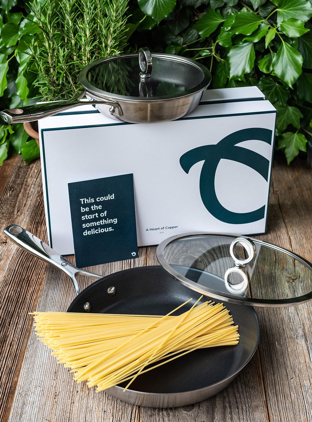Spargel Spaghetti Carbonara - Rezept mit in der Pfanne gegartem Spargel