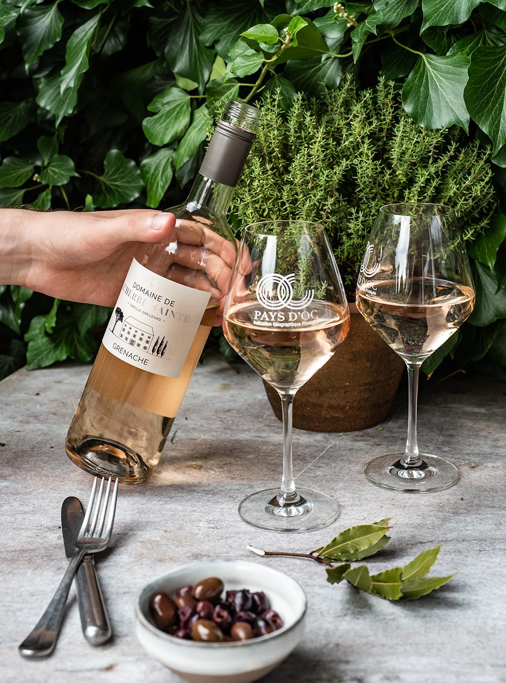 Pays d'Oc IGP Wein Rosé