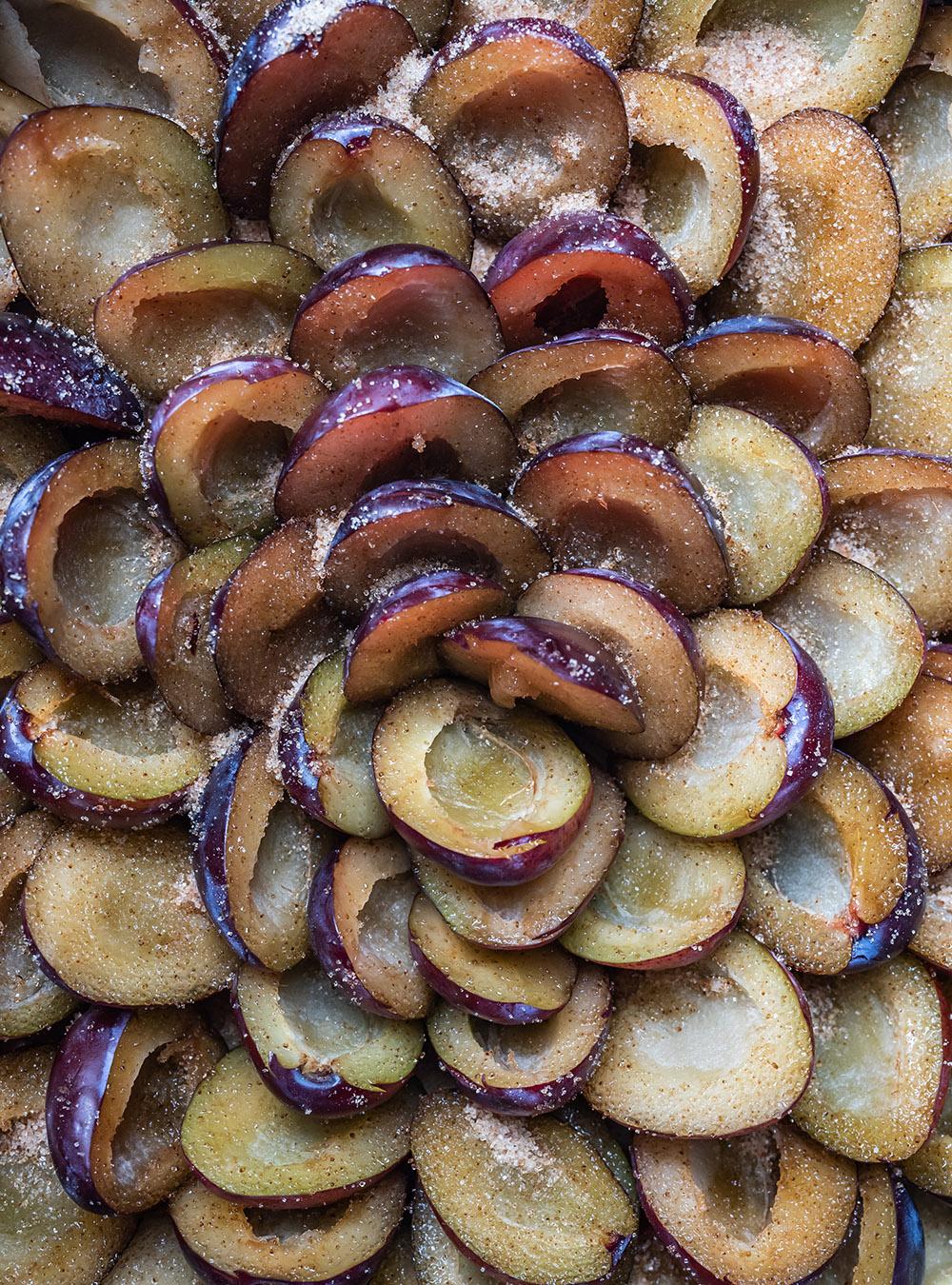 Ruck Zuck saftiger Pflaumenkuchen mit Streuseln